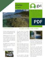 GVI Seychelles Newsletter Issue 2 March 2014