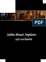 Saline Breast Implants-Safe and Reliable