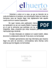 Hoja Informativa -Huerto- Baeza- 2-11-09