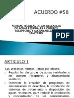 Acuerdo 58