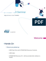 STM32F429 Seminar CombinedModules