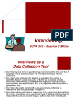 ScWk 242 - Session 3 Slides - Interviews