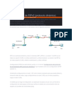 Configuración de RIPv2, ospf, eigrp