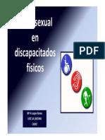 Sexualidad discapacitados