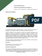 ESPECIFICACIONES TECNICAS ELECTROMECANICAS