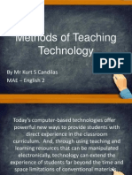 g  methods of teaching technology