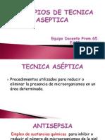Principios de Tecnica Aseptica
