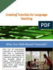 m  creating tutorials for language teaching