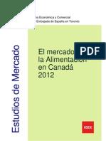 CANADÁ Mercado de la alimentación