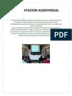 presentacion audiovisual