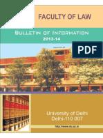 Delhi University Law Prospectus-1