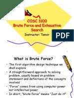 BruteForceExhaustiveSearch
