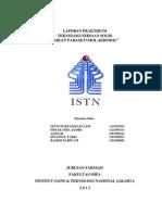 114578473 Laporan Praktikum Teknologi Sediaan Solid Tablet Parasetamol