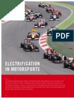 Electrification in Motorsport
