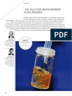 Online Oil Dilution Measurement at Gasoline Engines