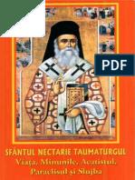 Sfantul Nectarie Taumaturgul, Viata, minunile, acatistul, paraclisul si slujba