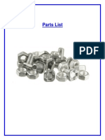 Parts List Ferrara