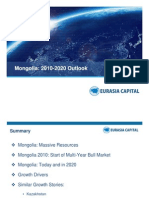 Mongolia Outlook 2020