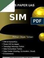 Tugas Paper UAS SIM 2013