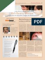 Artikel-Betäubung ohne Schmerz