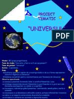 proiect tematic cosmosul