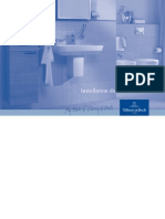 Dimenzije ugradnje sanitarija