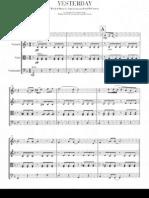The Beatles - Yesterday String Quartet