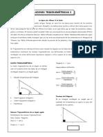 1°_Razones Trigonométricas I
