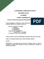 Decizia CEDO, Privind Baroul Constitutional, Varianta Romana
