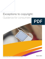 Copyright Guidance Consumers
