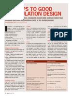 Insulator designing