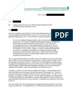 LACERA Public Records Act Request Response, 3/19/14