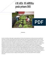 Plan de Area de Agricola Grado Primero 2013