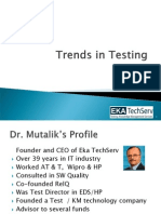 Trends in Testing - Eka TechServ