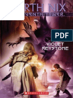 the seventh tower Violet Keystone, The - Garth Nix