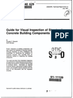 Guide for Visual Inspection of Structural Concrete Building Components USACE