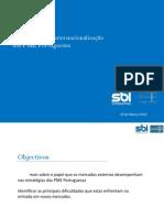 Estudo sobre a Internacionalização das PME Portuguesas