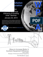 Ways to Increase Boiler Efficiency and Auzilliary Equipment Efficiency by Dan Gelbar, Alstom