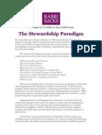 The Stewardship Paradigm