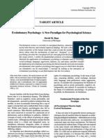 Evolutionary.psychology,.a.new.Paradigm Jurnal