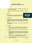 Terms of Reference for the Independent Decommissioning Body