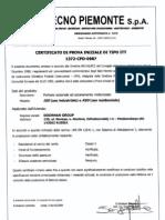 DoorHan CE Certificate for All Sectional Doors