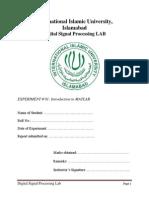 DSP Lab01 Handout