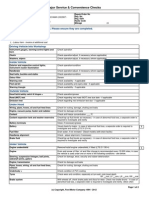 Service Schedule ford