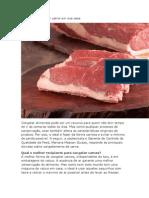 Dicas Para Congelar Carne Em Sua Casa