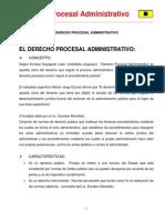 1. Derecho Procesal Administrativo (Completo)
