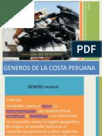 Generos Musicals y Dancisticos de La Costa