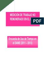 06. Medicion Del Trabajo No Remunerado en El DANE Colombia Freire