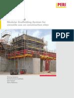 PERI UP Rosett for the Use on the Constr Jobsite Brochure Hq En