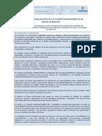 Desarrollo y Evaluacion de Competencias Medio Ambiente